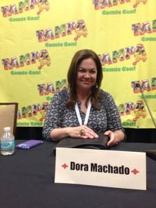 Yours truly at one of the panels.