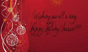 Happy Holiday greeting 2014