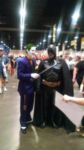 Tampa Bay Comic Con 2015 Batman and the Joker