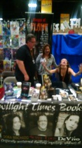 Tampa Bay Comic Con 2015 TTB Authors having fun