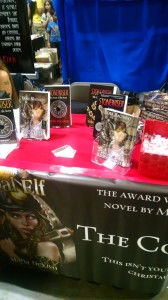 Display Table at Tampa Bay Con 2015