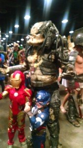 Tampa Bay Comic Con 2015 Small and big monsters